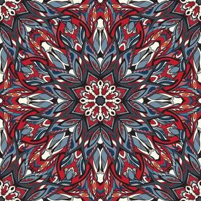 Kaleidoscopic ornament