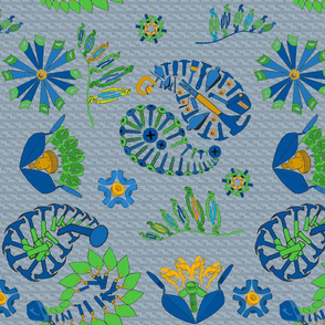 tool paisley in Habitat colors