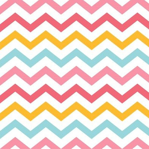 little one girl :: chevron