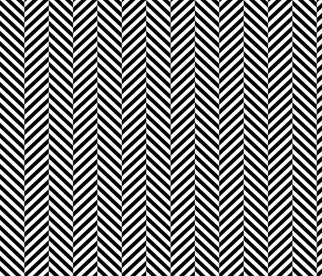 herringbone LG black fabric by misstiina on Spoonflower - custom fabric