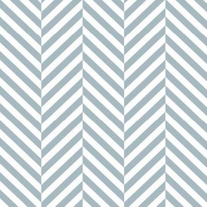 herringbone LG slate blue