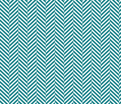 herringbone LG dark teal fabric by misstiina on Spoonflower - custom fabric