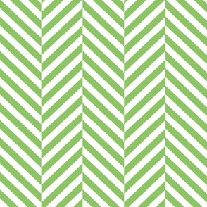 herringbone LG apple green