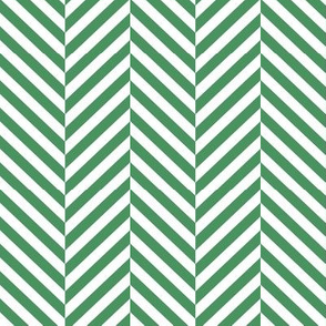 herringbone LG kelly green