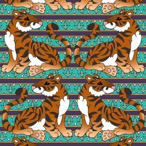Tiger Leafy Stripe