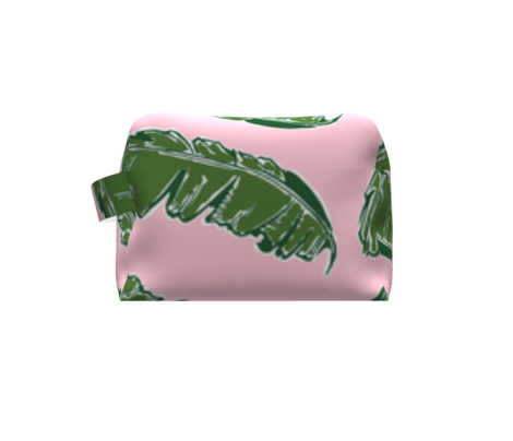 Nouveau Banana Leaf in Crabby Pink