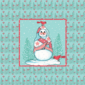 SNOWMAN_PILLOW_Quilt