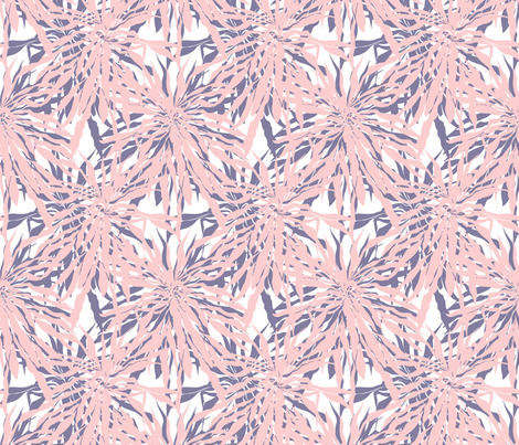 Palm leaves fabric by daria_rosen on Spoonflower - custom fabric