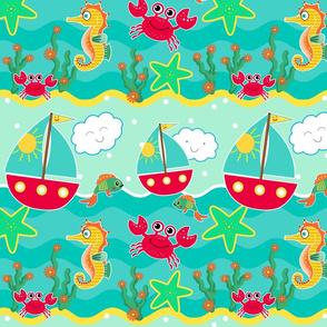 _*TK-Sailboats___Waves_Pattern-FINAL Newest
