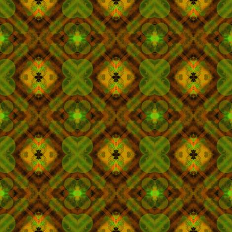 Lucky Plaid fabric by gargoylesentry on Spoonflower - custom fabric