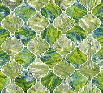 Ogee - greens