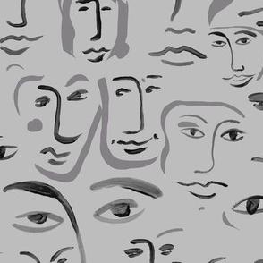 foggy faces