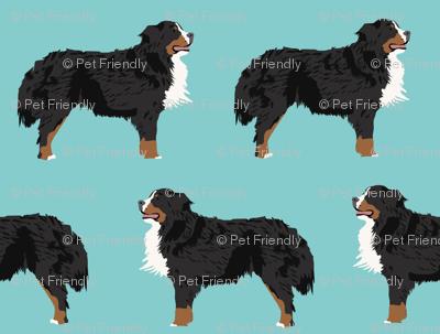 bernese mountain dog dog fabric cute dog design bernese mountain dog crafts sewing bernese mountain dog gifts