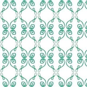 Doodle Frederik green