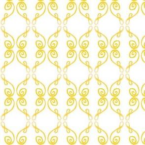 Doodle Frederik yellow