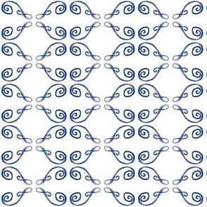 Doodle Henrik blue