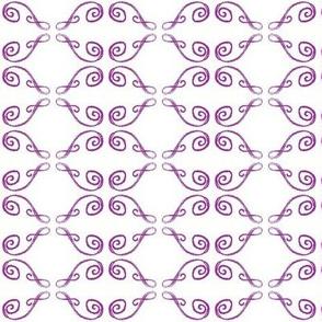 Doodle Henrik violet