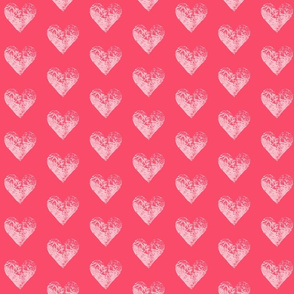 Two-Toned Coral Hearts