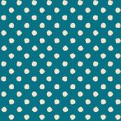 Odd Dots - Kingfisher & Cream