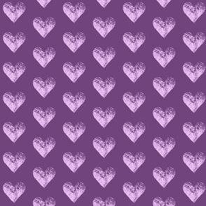 Two-Toned Iris Hearts