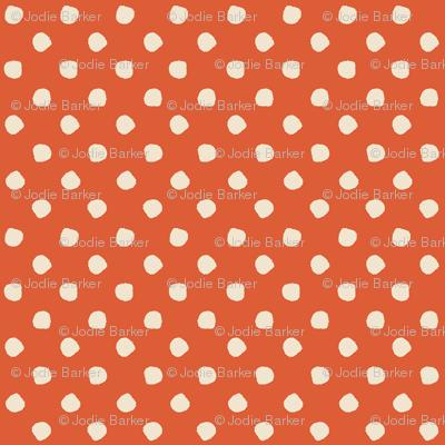 Odd Dots - Paprika & Cream