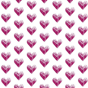 Magenta Hearts