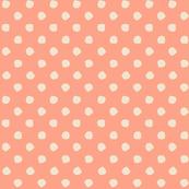 Odd Dots - Salmon & Cream