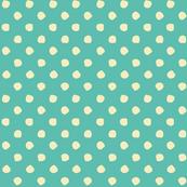 Odd Dots - Soft Teal & Vanilla