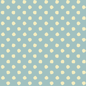 Odd Dots - Warm Blue Grey & Vanilla