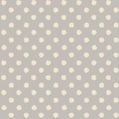 Odd Dots - Warm Grey & Cream