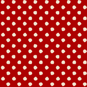 Odd Dots - Tomato Red & Vanilla
