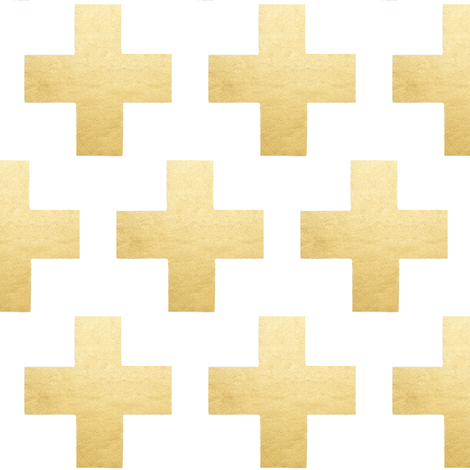 Plus Verigated Shimmer Gold fabric by parisbebe on Spoonflower - custom fabric