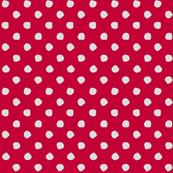 Odd Dots - Cherry & Pale Grey