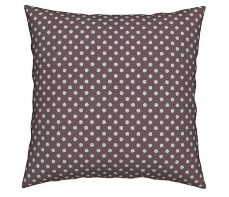 Odd Dots - Rose Taupe & Pale Grey