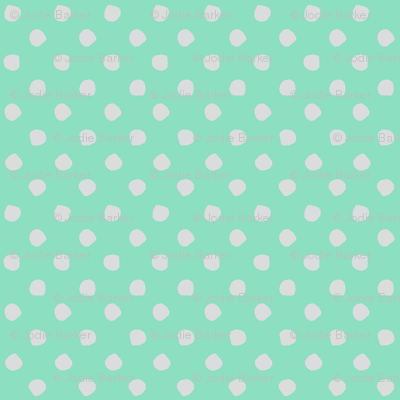 Odd Dots - Spearmint & Pale Grey