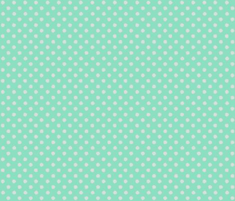 Odd Dots - Spearmint & Pale Grey fabric by jodiebarker on Spoonflower - custom fabric