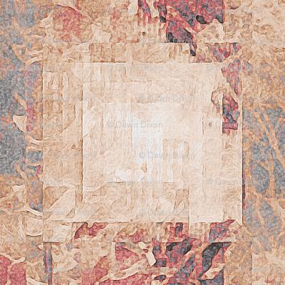 Retro Beige Squares