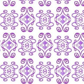 Doodle Eliot violet