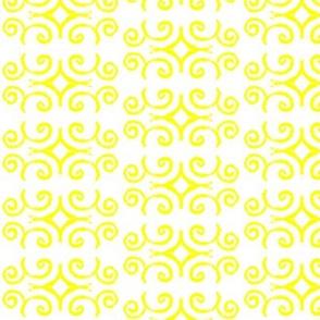 Doodle Aaron yellow