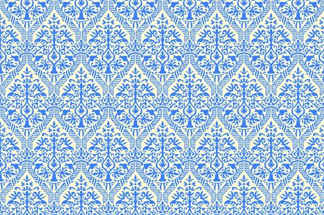 Jmb's crowning damask 8x16 fabric by keweenawchris on Spoonflower - custom fabric
