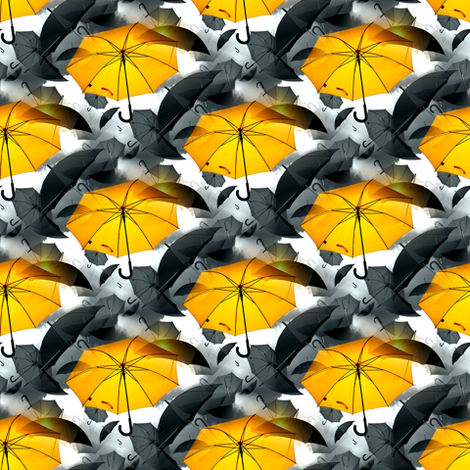 sunny umbrella fabric by stofftoy on Spoonflower - custom fabric