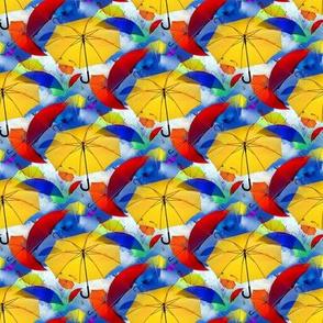 umbrella in colors