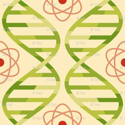 05670408 : dna + atom : apple juice