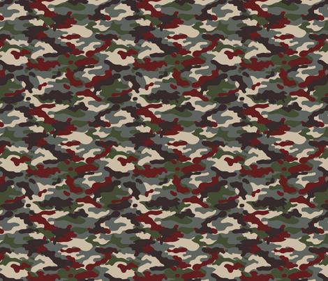QPAT Red fabric by ricraynor on Spoonflower - custom fabric