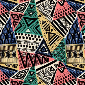 tribal triangles 3