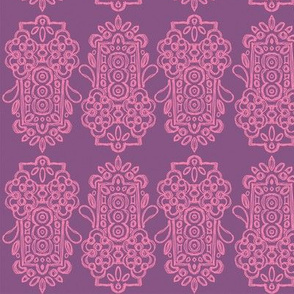 Alhambra Cerise & Lavender