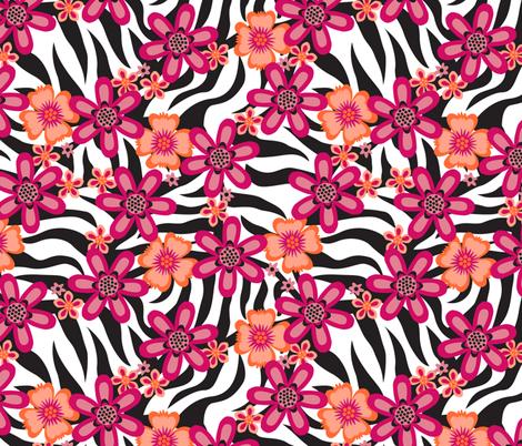 Hidden Zebra (Wild) fabric by brendazapotosky on Spoonflower - custom fabric