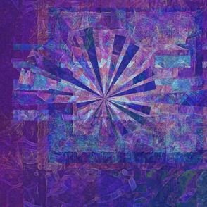 Galaxy Starburst Purple