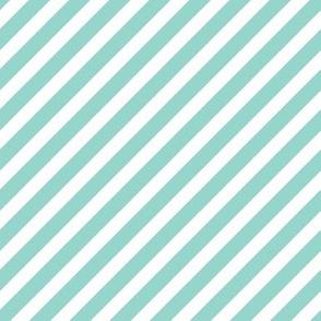 diagonal mint stripes, mint stripe fabric, fabrics, girls sweet nursery baby fabric