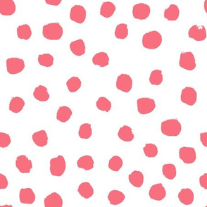 painted dots fabric preppy girls fabric nursery fabric dots